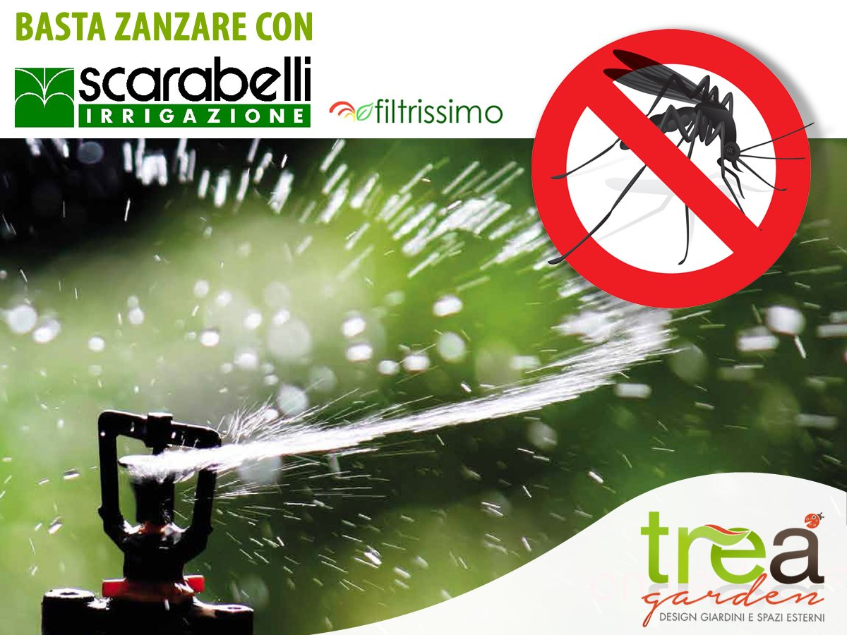 filtrissimo Sistema di irrigazione antizanzare
