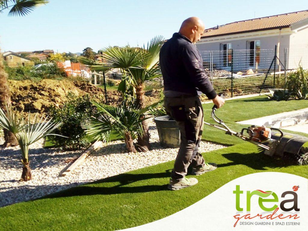 REALIZZAZIONE GIARDINI giardino per cane alberi prato