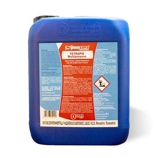 TETRAPIÙ Multipurpose è efficace contromosche,zanzare,scarafaggi,formiche,cimici,pulci, per ladisinfestazione di edifici civili industriali e rurali trea agricoltura pavia cervesina milano
