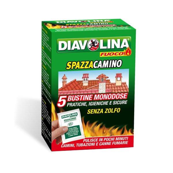 Diavolina Spazzacamino 5 bustine mono dose