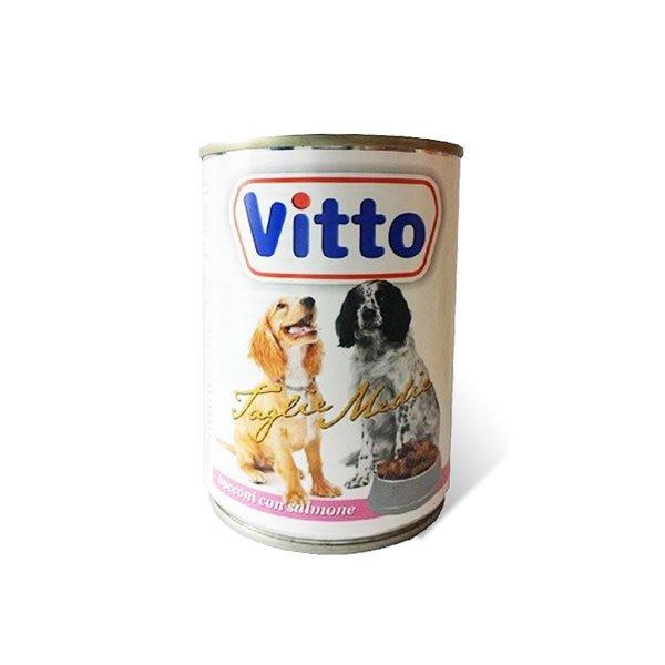 Bocconcini al salmone per cani 400gr - Vitto