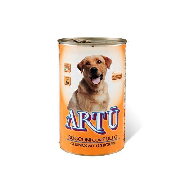 Bocconcini al salmone per cani 400gr - Artù