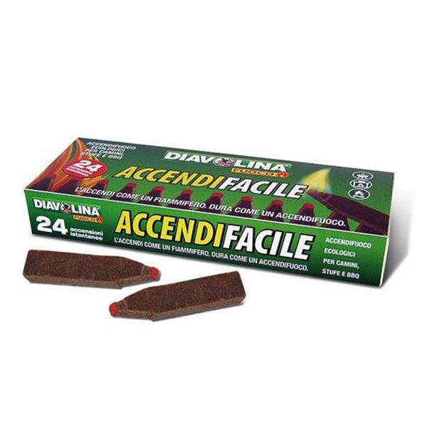 DIAVOLINA ACCENDIFACILE 24 PZ