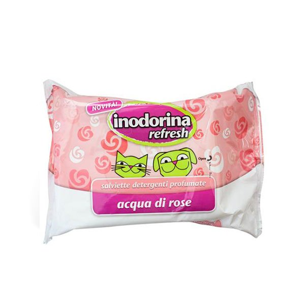 salviette detergenti profumate - Indorina refresh