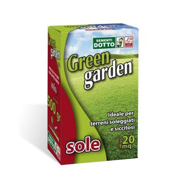 Green garden sole - sementi per tappeti erbosi da 20mq