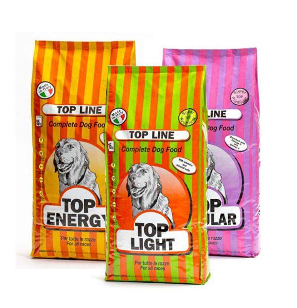 Croccantini per cani vari tipi 15kg top line